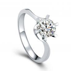 钻石女戒指【空托】