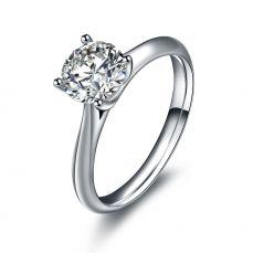 1克拉钻石女戒
